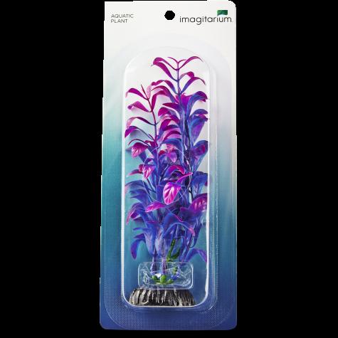 Imagitarium Purple Blue Foreground Aquarium Plant Petco
