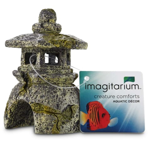 Imagitarium Lantern Aquarium Decor