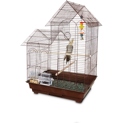 You & Me Cockatiel Ranch House Bird Cage