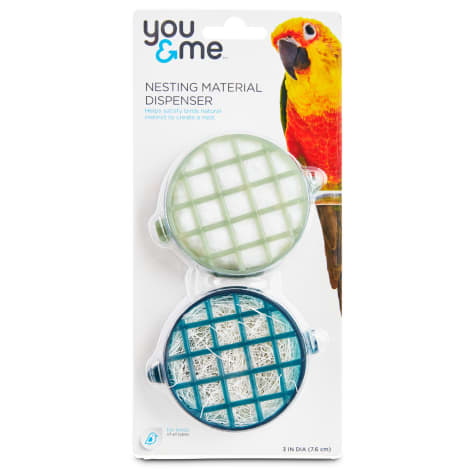 You & Me Nesting Material Dispensers