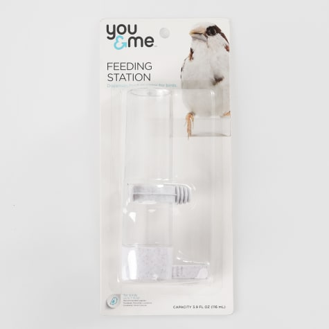 You & Me Small Fountain Feeder Plastic