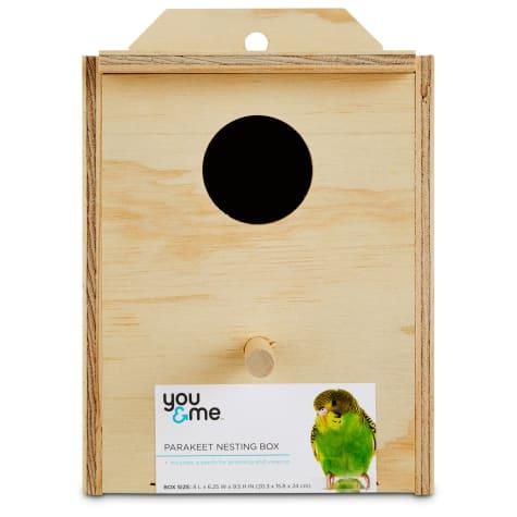You & Me Parakeet Nest Box