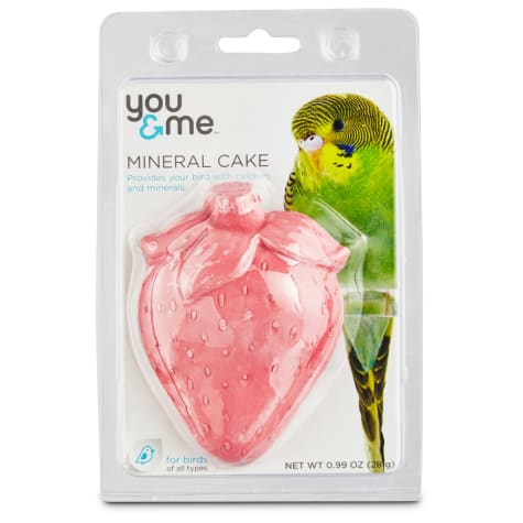 You & Me Strawberry Mineral Bird Cake