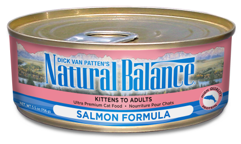 Natural Balance Salmon Formula Wet Cat Food