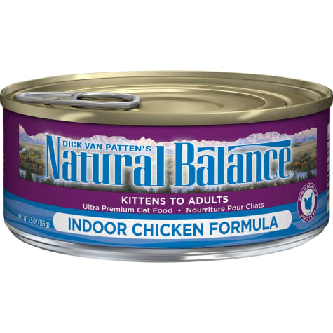 Natural Balance Indoor Formula Wet Cat Food