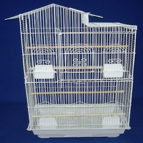 YML Tall Villa White Top Bird Cage