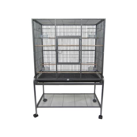 YML Antique Silver Aviary Bird Cage