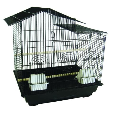 YML Villa Black Top Bird Cage