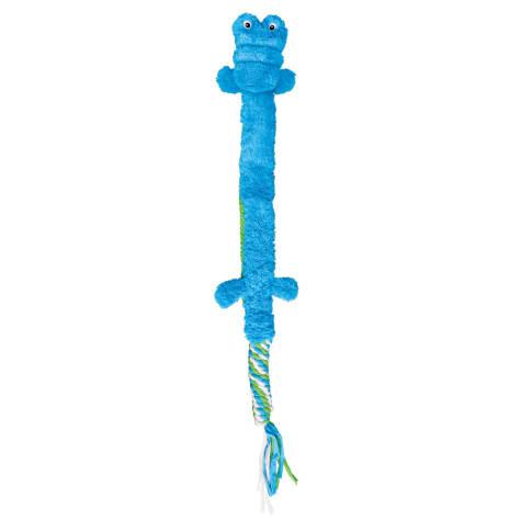 KONG Winder Tails Gator Dog Toy