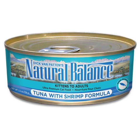 Natural Balance Tuna with Shrimp Formula Wet Cat Food