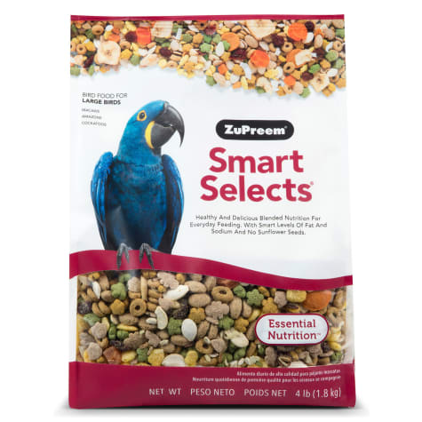 ZuPreem Smart Selects Blend Macaws, 4lbs.