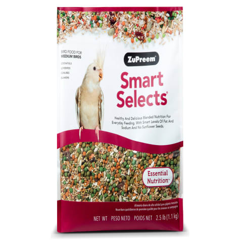 Smart Selects Blend Cockatiels, 2.5lbs.