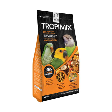 Tropimix Formula for Small Parrots, 4lbs.