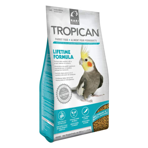Tropican Lifetime Formula Cockatiel, 1.8lbs.