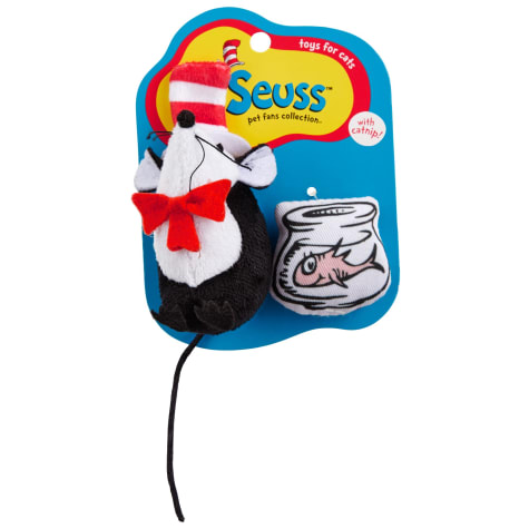 Dr. Seuss Cat in the Hat Mouse Toys for Cats