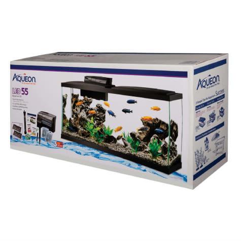 Aqueon 55 Gallon LED Aquarium Kit