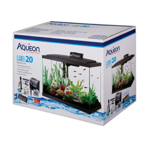 Aqueon LED 20 Gallon Aquarium Kit