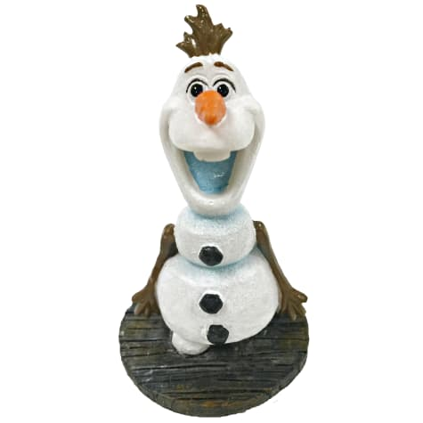 Penn Plax Frozen Olaf Standing Aquarium Ornament