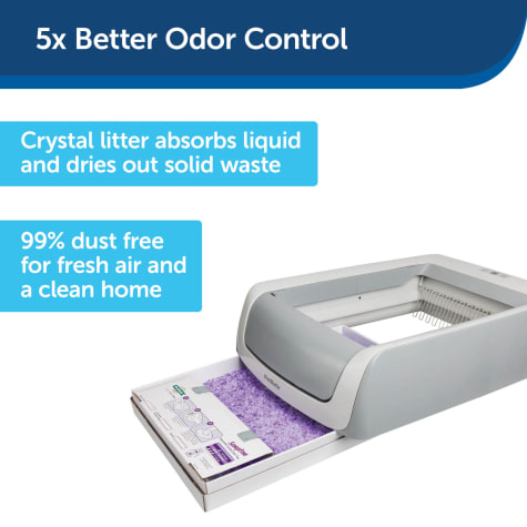 ScoopFree by PetSafe Disposable Crystal Lavender Litter Tray for Cats