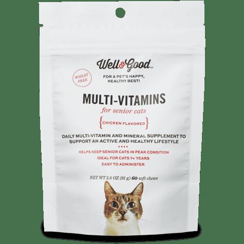 Well & Good Multi Vitamin for Senior Cats