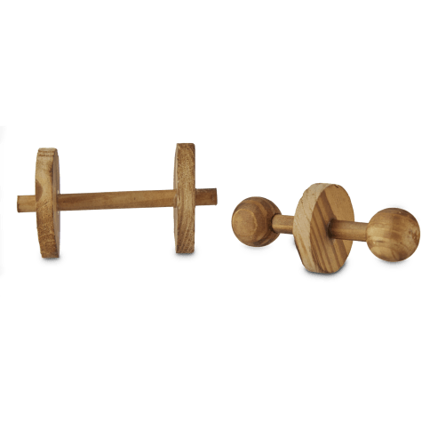 You & Me Small Animal Dumbbells