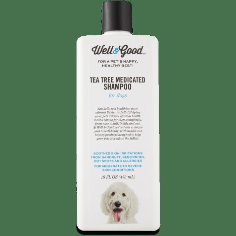 Well & Good Tea Tree Medicated Shampoo