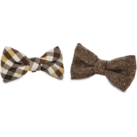 Bond & Co. Brown Bowtie 2 Pack