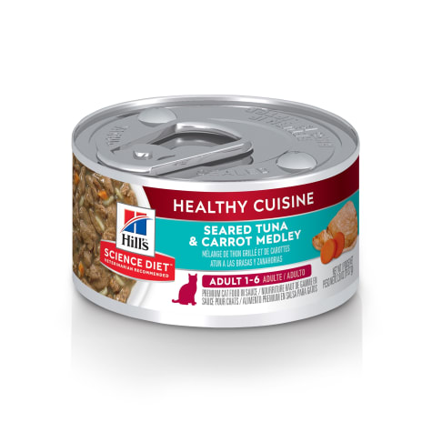 Hill's Science Diet Healthy Cuisine Adult Seared Tuna & Carrot Medley Canned Cat Food