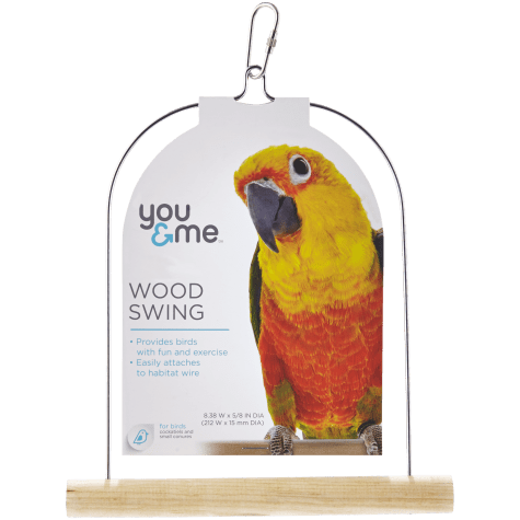 You & Me Wood Bird Swing
