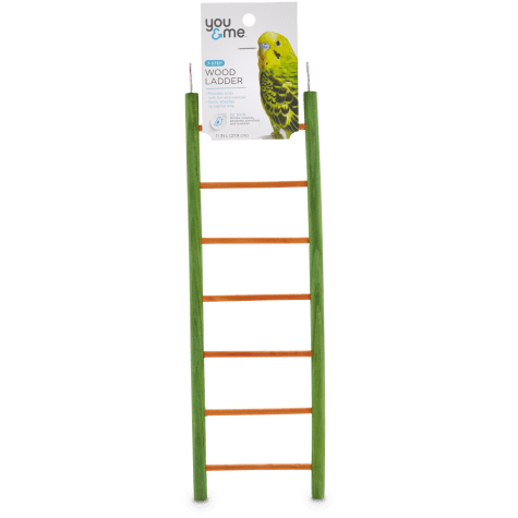 You & Me Bird 7-Step Wood Bird Ladder