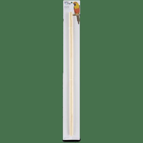 You & Me 3/4-inch Wood Bird Perch