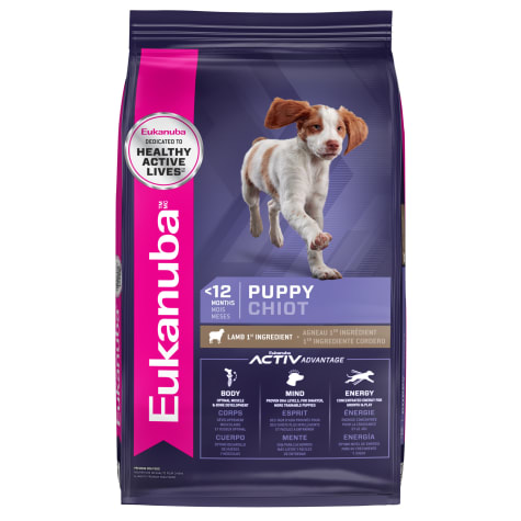 Eukanuba Puppy Early Advantage Lamb & Rice Dry Dog Food