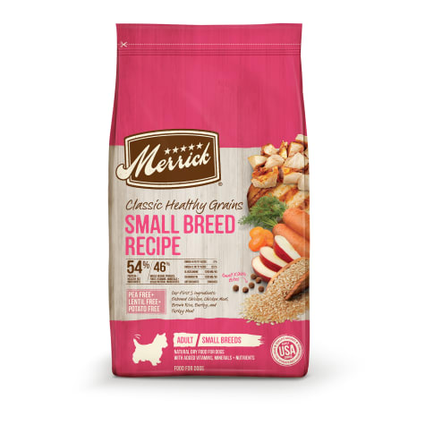 Merrick Classic Healthy Grains Small Breed Recipe Dry Dog Food
