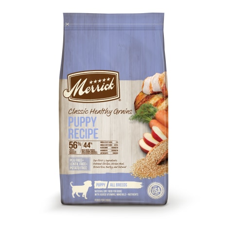Merrick Classic Healthy Grains Puppy Recipe Dry Dog Food