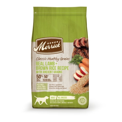 Merrick Classic Healthy Grains Lamb+ Brown Rice Recipe with Ancient Grains Dry Dog Food