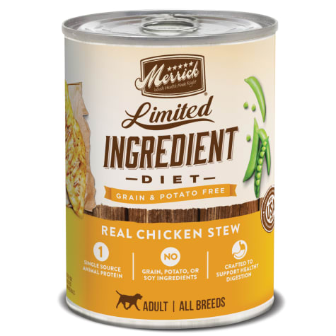 Merrick Limited Ingredient Diet Grain Free Real Chicken Canned Dog Food