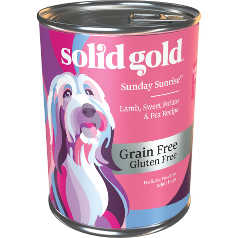 Solid Gold Sunday Sunrise Lamb Grain Free Canned Dog Food