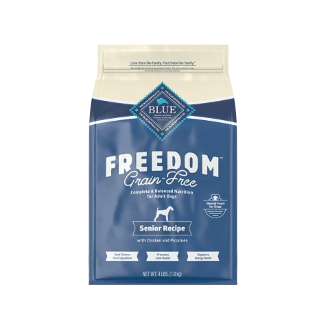 Blue Buffalo Blue Freedom Grain-Free Chicken Recipe Senior Dry Dog Food