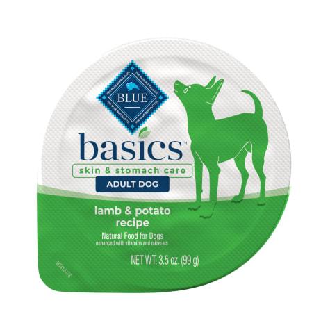 Blue Buffalo Blue Basics Grain-Free Lamb & Potato Recipe Small Breed Adult Wet Dog Food