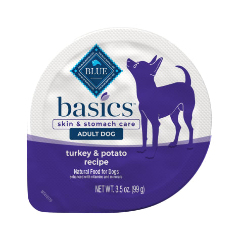 Blue Buffalo Blue Basics Grain-Free Turkey & Potato Recipe Adult Small Breed Wet Dog Food