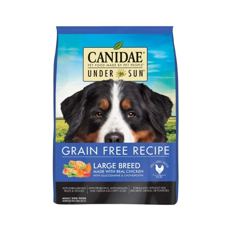CANIDAE Under The Sun Grain Free Large Breed with Chicken Adult Dry Dog Food