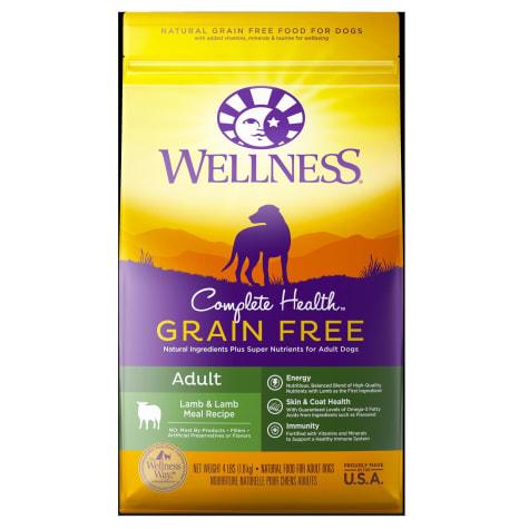 Wellness Complete Health Grain Free Adult Lamb & Lamb Meal Recipe Dry Dog Food