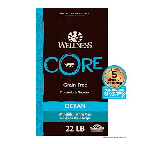 Wellness CORE Natural Grain Free Ocean Recipe Dry Dog Food