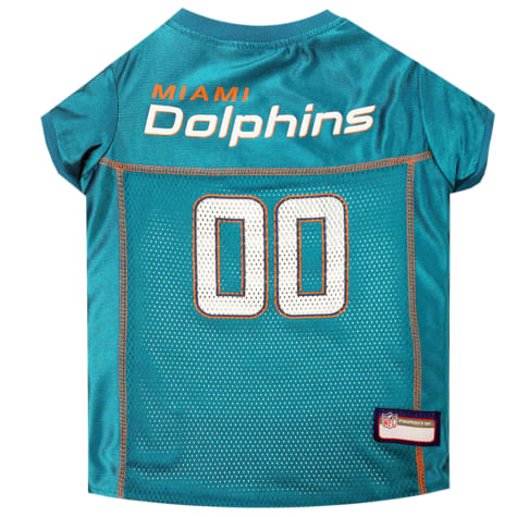 Pets First Miami Dolphins NFL Mesh Pet Jersey