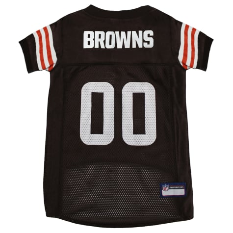Pets First Cleveland Browns NFL Mesh Pet Jersey