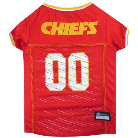 Pets First Kansas City Chiefs NFL Mesh Pet Jersey