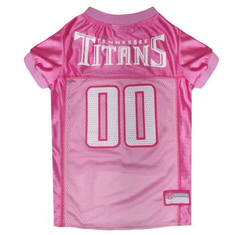 Pets First Tennessee Titans NFL Pink Mesh Jersey
