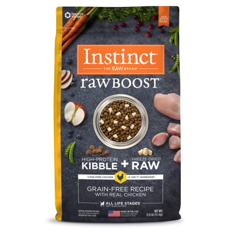 Instinct Raw Boost Grain Free Recipe with Real Chicken Natural Dry Dog Food by Nature's Variety