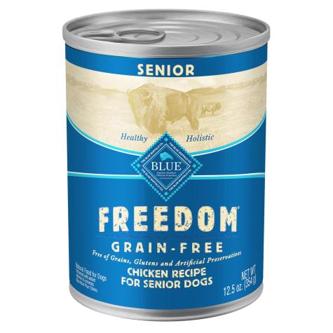 Blue Buffalo Blue Freedom Grain-Free Senior Chicken Recipe Wet Dog Food