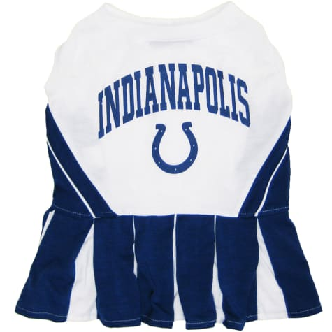 Pets First Indianapolis Colts NFL Cheerleader Outfit